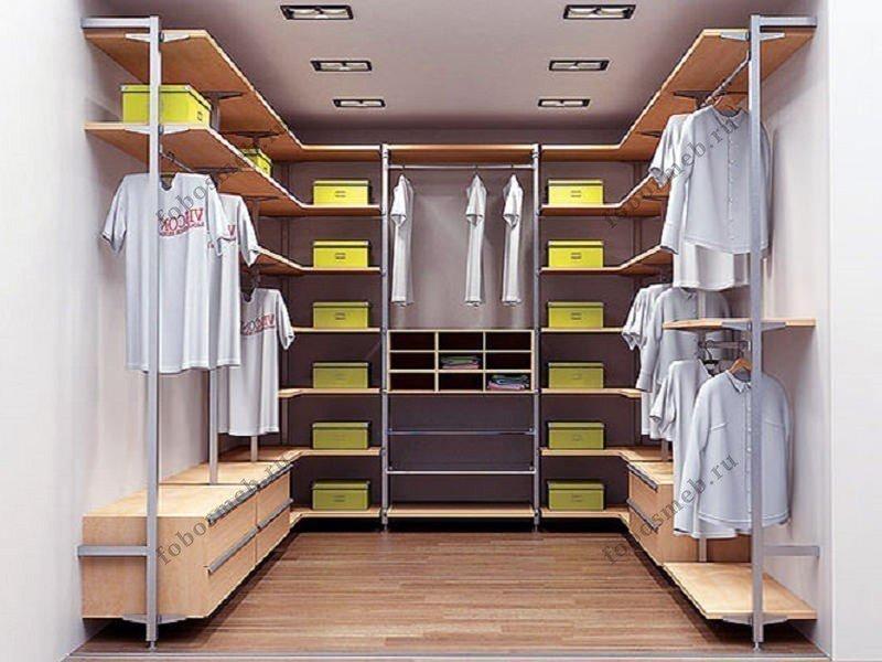 Дизайн гардеробной комнаты, варианты оформления и отделочные.