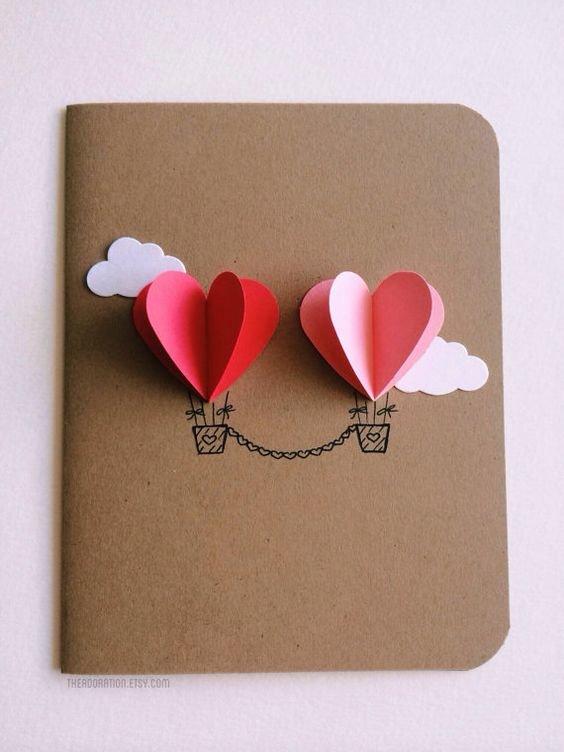 Простые открытки с днем святого валентина, анимация последний
