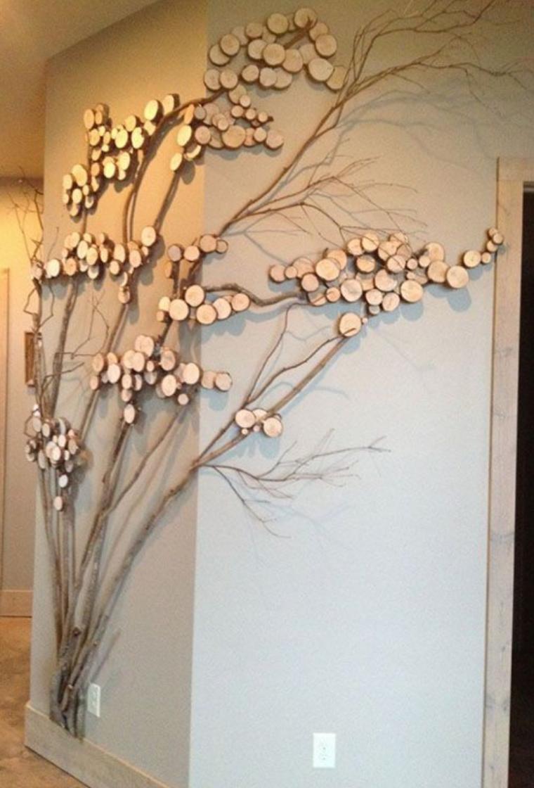 Декор стен деревья своими руками