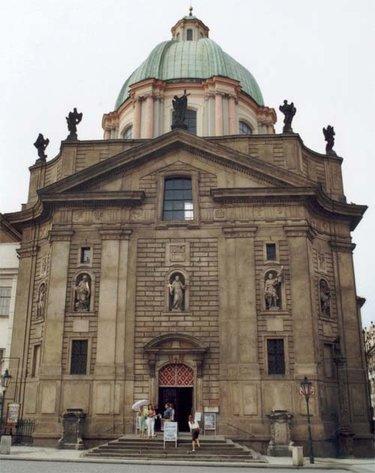 церковь св. франциска в праге