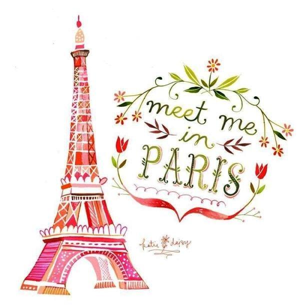 Текст открытка на французском