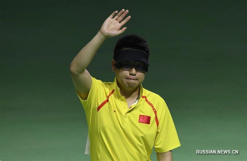 Спортивная стрельба: Пан Вэй завоевал бронзу в стрельбе из пневматического  пистолета с 10 м