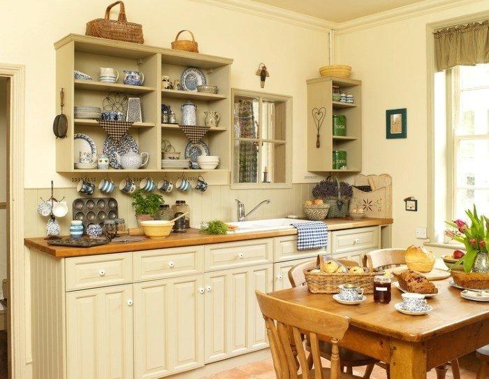 Галерея кухонь в стиле кантри