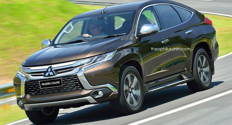 """Theophilus Chin renders """"coupe"""" version of all-new Mitsubishi Pajero Sport."""