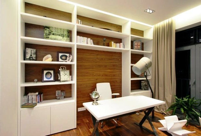 Для тех, кто работает на дому или часто берет часть основной работы из офиса на дом, очень важно обустроить уютный и удобный домашний офис.
