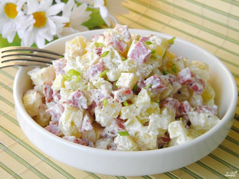 Салат сыром пошаговый рецепт фото