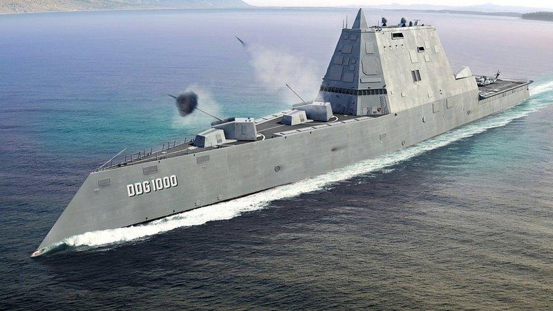Эсминец ВМС США DDG-1000 Zumwalt