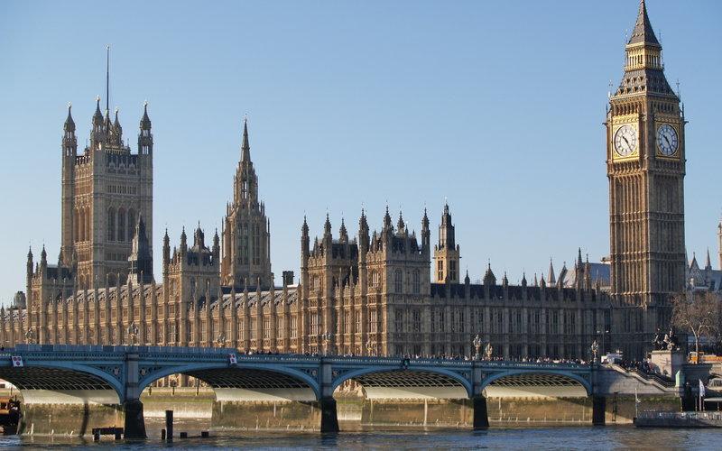 Биг Бэн в Лондоне.