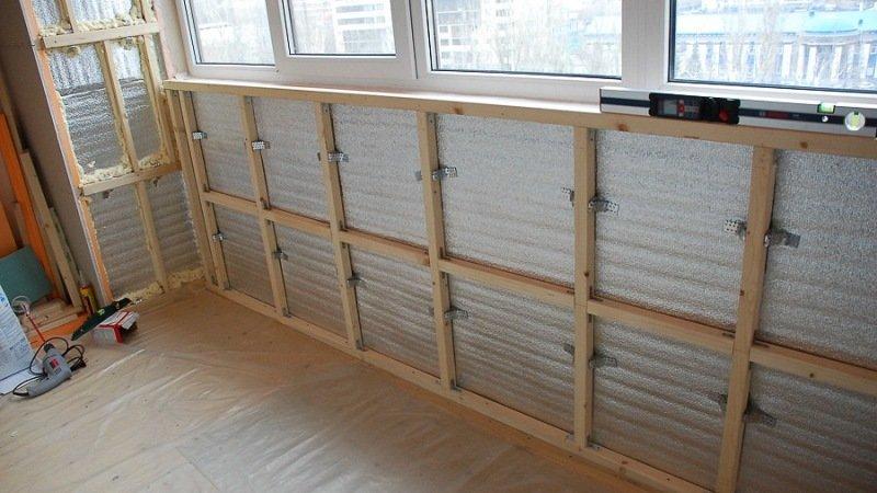 Фото обшить балкон своими руками