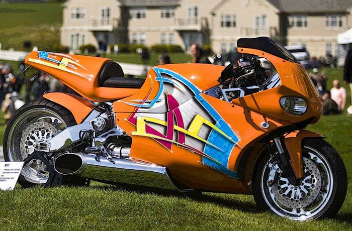 Мотоцикл Turbine Street fighter от МТТ