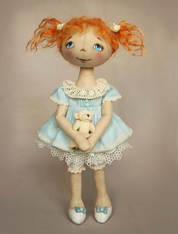 Одежда на текстильные куклы своими руками выкройки 122