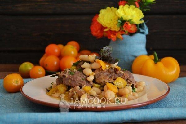 Проверенный рецепт приготовления тушеной баранины с фасолью