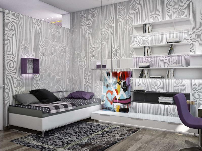 Дизайн комнаты для молодого человека: функциональный интерьер