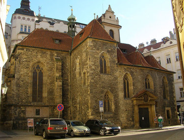 • церковь св. мартина прага
