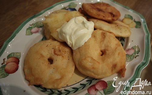 яблоки в кляре от юлии высоцкой на завтрак