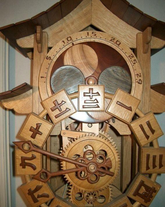 Механические часы из дерева своими руками фото 750