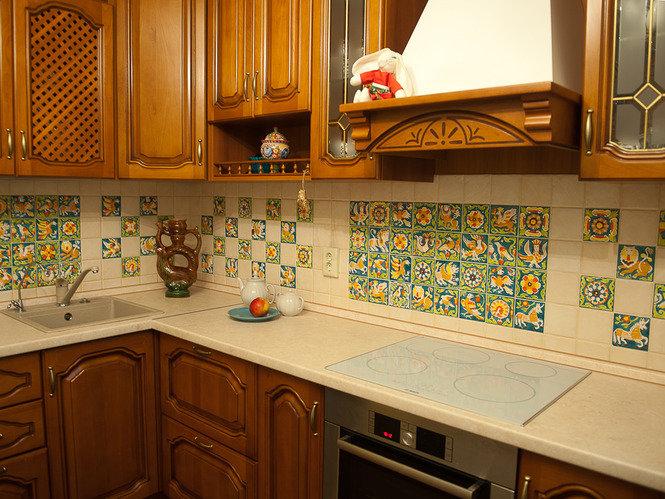 мексиканская плитка на кухонный фартук как любые другие