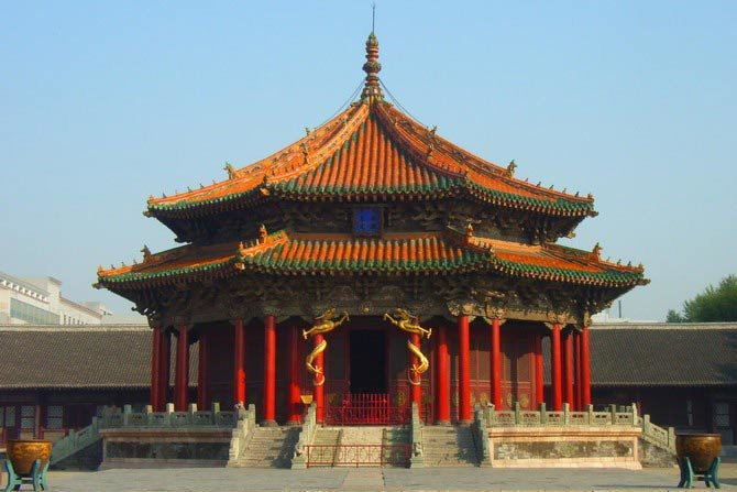 древние постройки в Китае неописуемо красивы