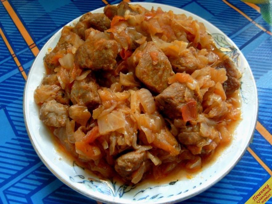 солянка мясная с капустой рецепт с фото пошаговый рецепт