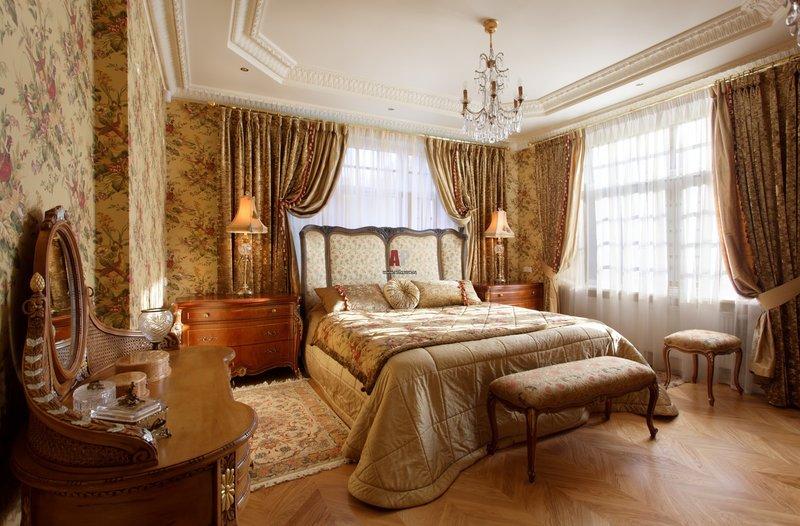 Шторы, портьеры и покрывала в Викторианском стиле