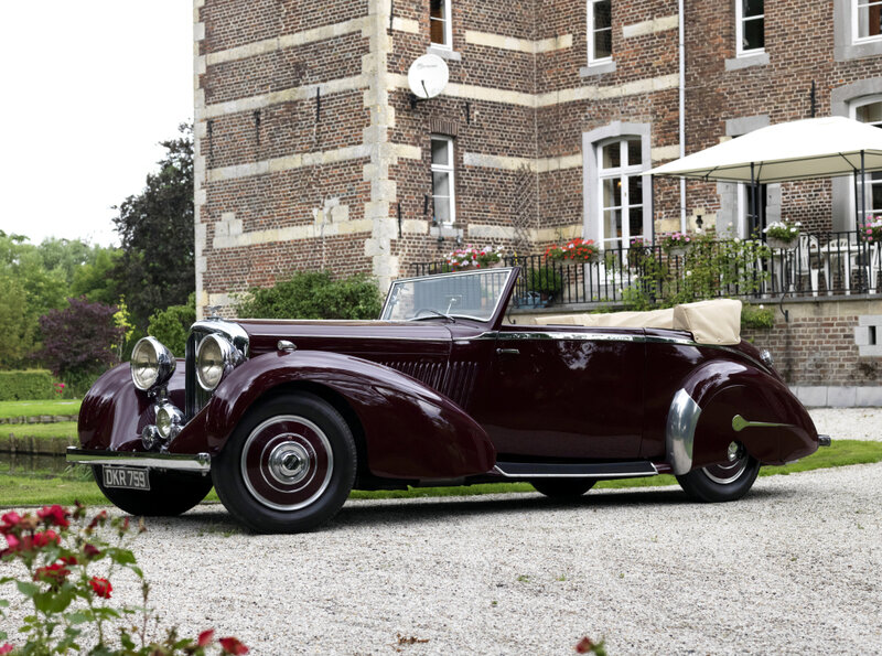 Bentley 4 ¼ Litre Drophead Coupe by James Young (B14KT)
