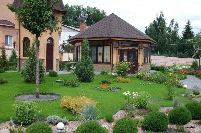 Ландшафтный дизайн - чудеса сада.