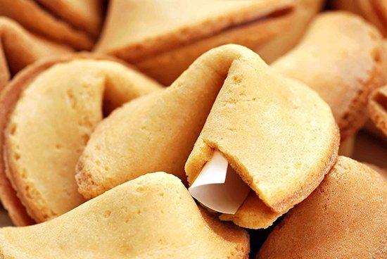 Печенье с предсказанием в домашних условиях