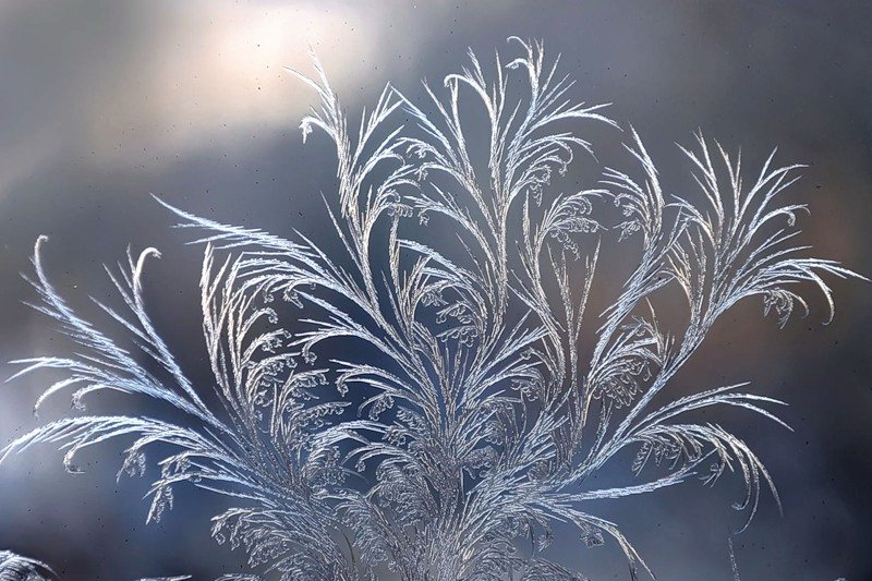 морозные узоры картинка рисунок