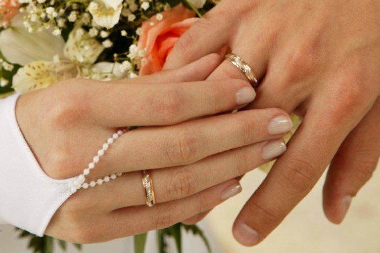 Виде, картинка обручальные кольца на руках