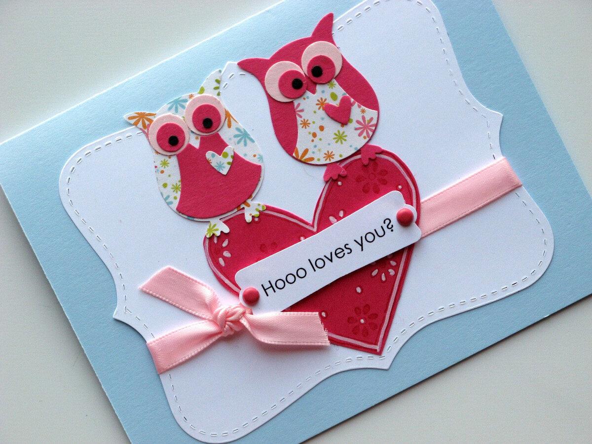 Сделать открытку для святого валентина