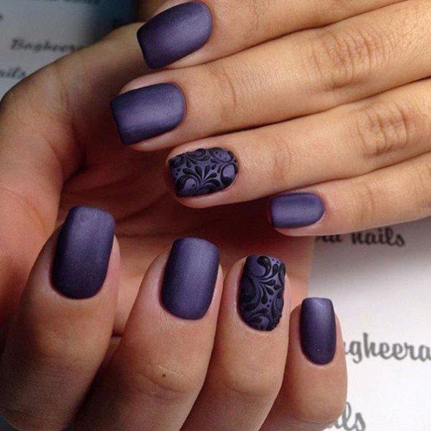 Лак для ногтей фиолетовый