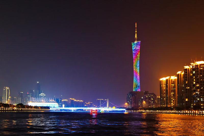 Телебашня Гуанчжоу (Гуанчжоу, Китай)