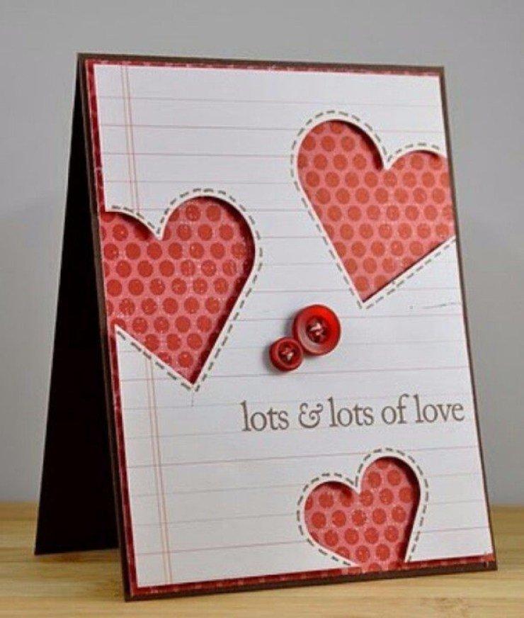Открытки, открытки сделанные своими руками для любимой