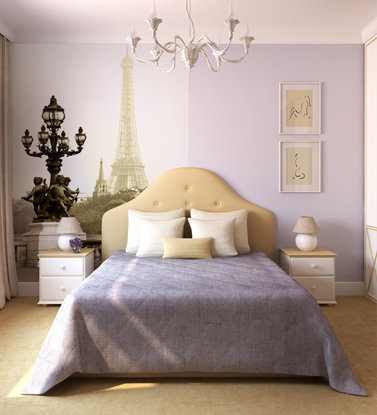 Фотообои видом на Париж.