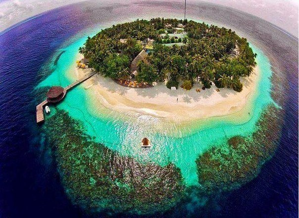 Остров Вадху, Мальдивы