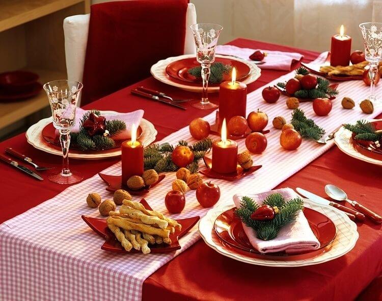Чай, картинки праздничный стол на новый год
