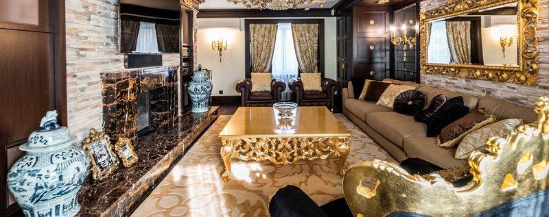 Примеры готовых дизайн проектов интерьеров жилых помещений. Фото интерьеров комнат разных стилей.