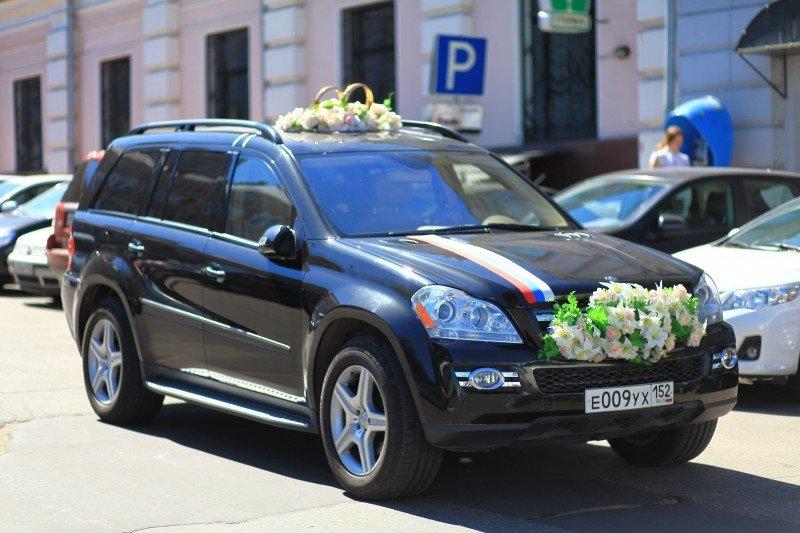 Свадебный Mercedes GL