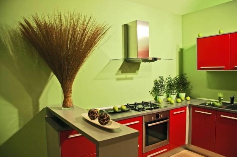 какой краской надо красить кухню