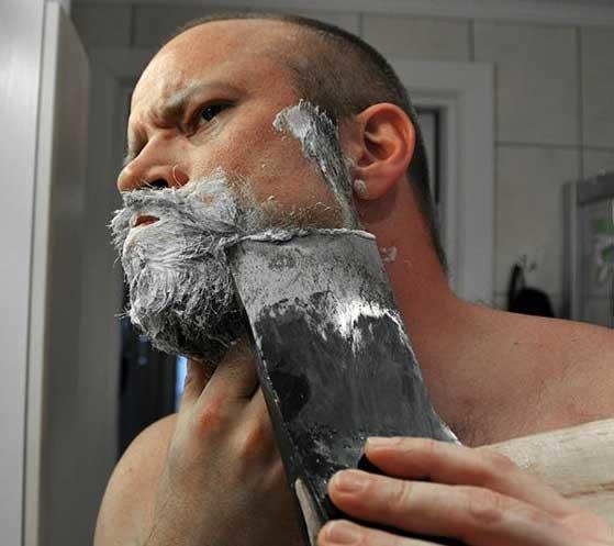 Прикол, прикольные картинки про бритье