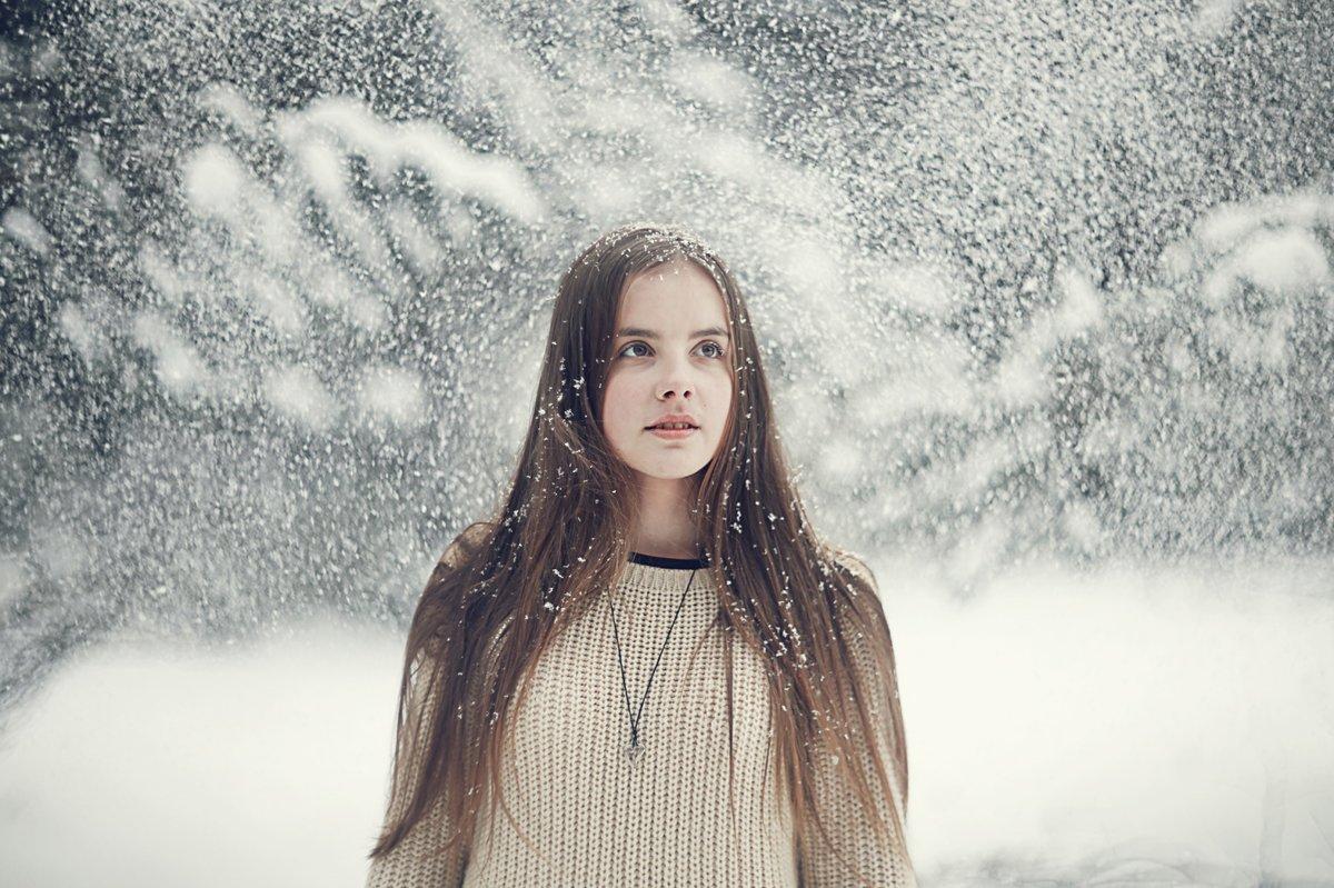 Примеры фотосетов снег