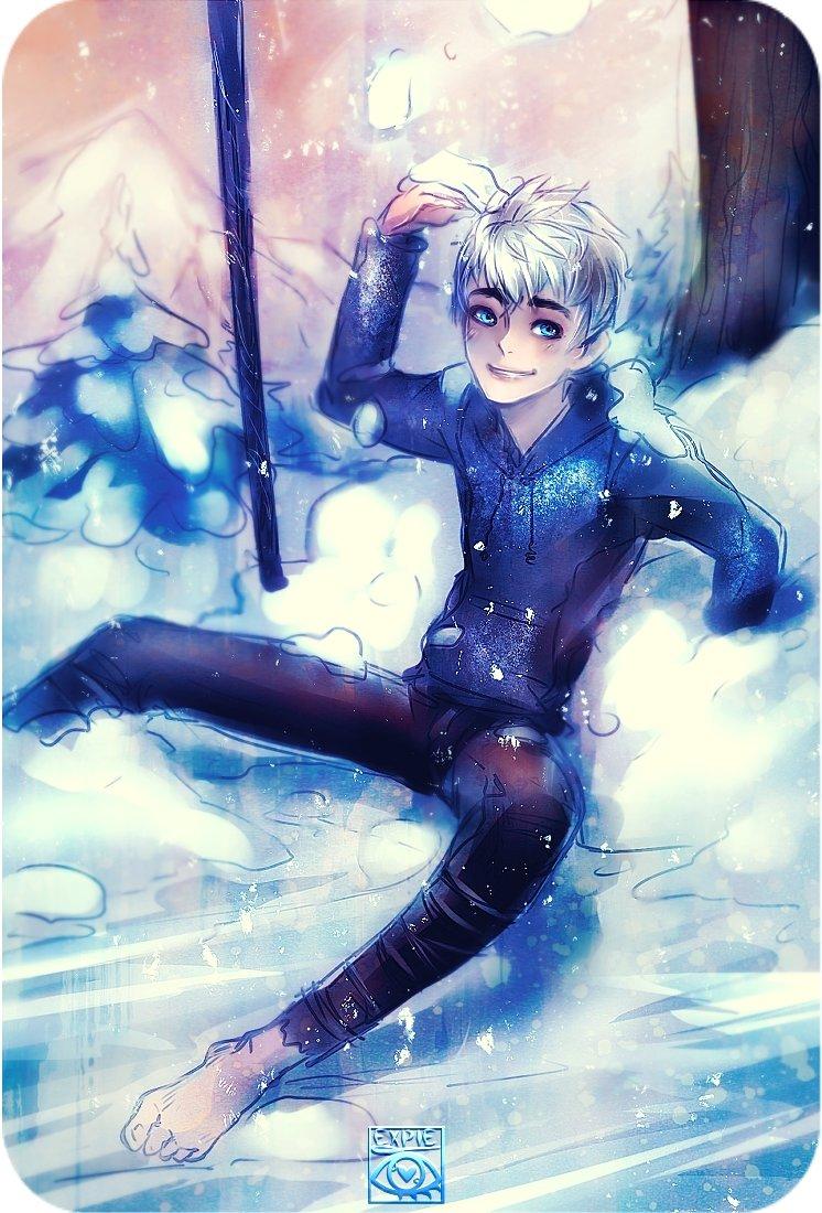 Ледяной джек аниме картинки