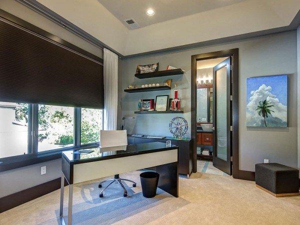 офисная современная мебель для уютного домашнего кабинета