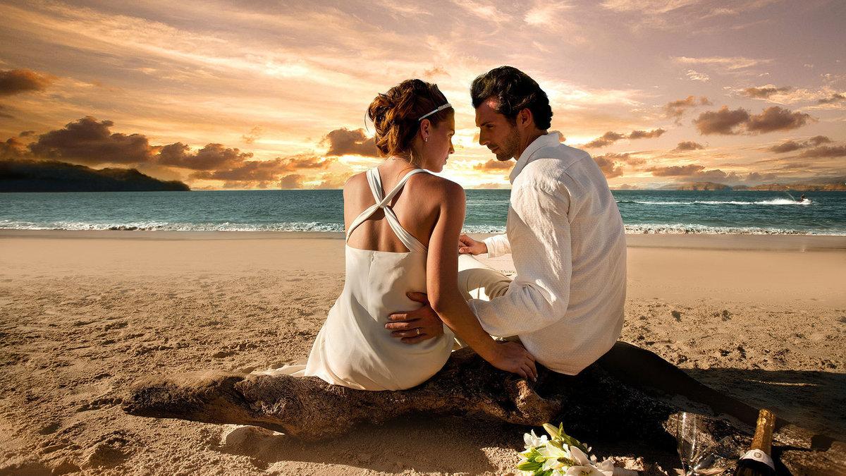 Картинки красивые влюбленных пар на море, анимашки