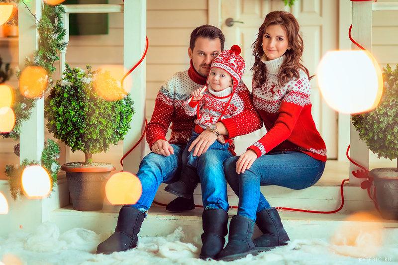 Фотосессия для семьи в фотостудии в Москве. Детский и семейный фотограф Катрин Белоцерковская