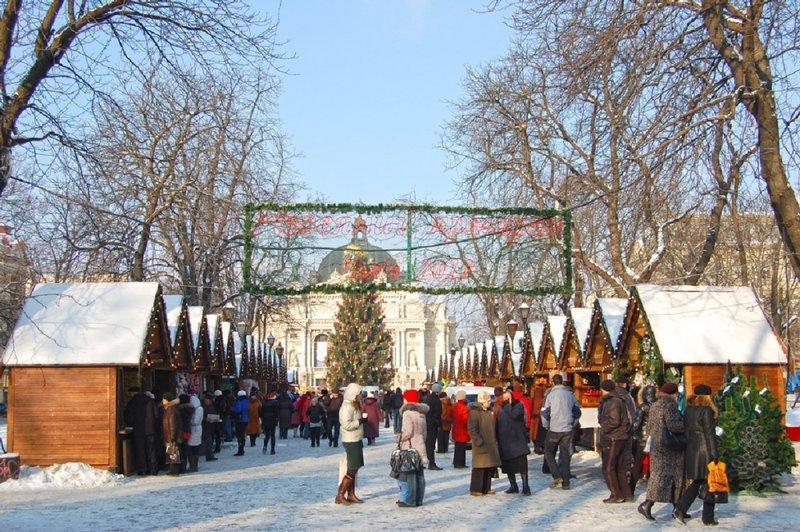 Новый год во Львов 2016.