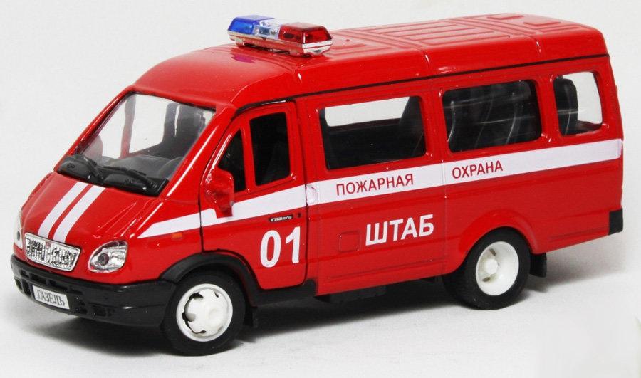 Пожарная машина газель