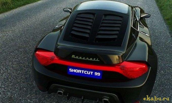 На фото авто Maserati Shortcut 99 concept.