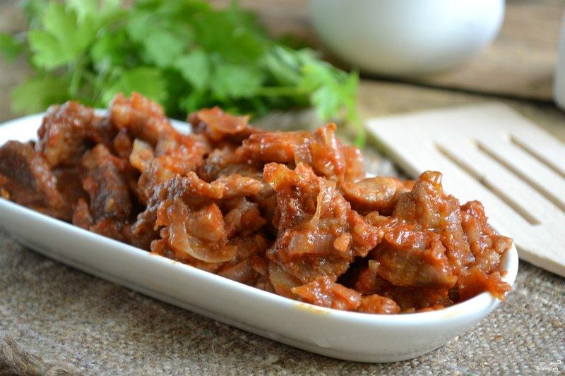 поджарка из свинины рецепт с фото пошагово
