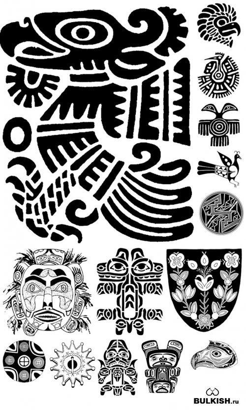 Индейцы коллекция картинок сытное